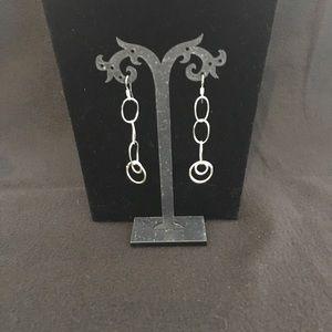 Jewelry - .925 Sterling Silver lightweight loop earrings